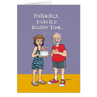 Funny 65th Birthday for Him Card