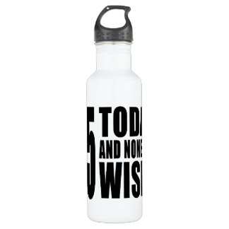 Funny 85th Birthdays : 85 Today and None the Wiser 710 Ml Water Bottle