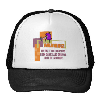 Funny 95th Birthday Gifts Cap