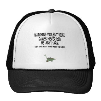 Funny and offensive video games trucker hats