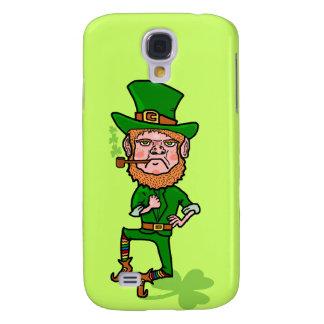 Funny Angry Lucky Irish Leprechaun Galaxy S4 Case