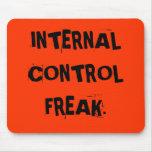 Funny Auditor Nickname - Internal Control Freak Mousepad