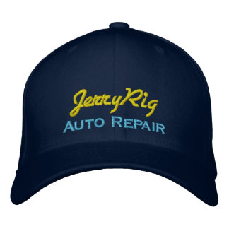 Funny Auto Mechanic Embroidered Hats