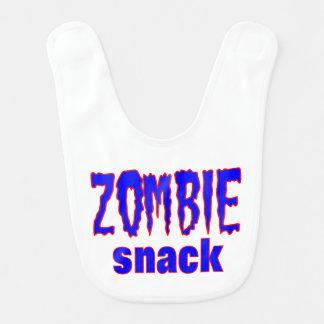 Funny Baby Bib Zombie Snack