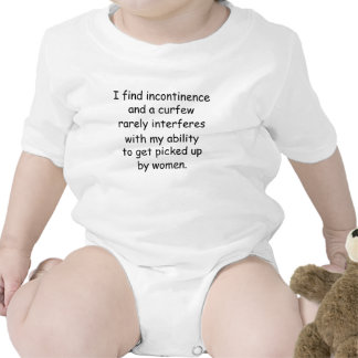 Funny baby shirt getting picked up by women