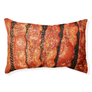 Funny Bacon Pet Bed