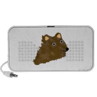 Funny Bear iPod Speaker