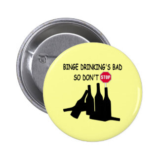 Funny Beer 6 Cm Round Badge