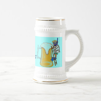 Funny beer diving mug
