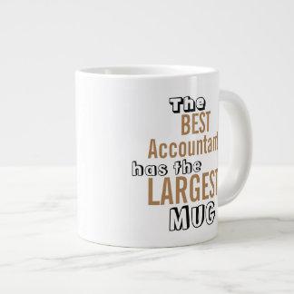 Funny Best Accountant Big Mug Accounting Quote Jumbo Mug
