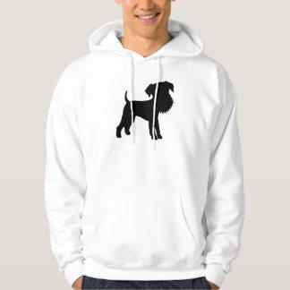 Funny Big Head Airedale Terrier Hoodie