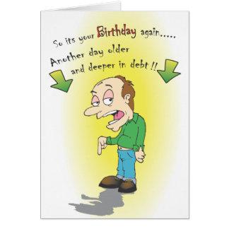 Funny Birthday card
