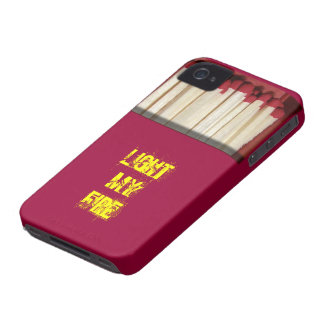 Funny box of matches iPhone 4 case