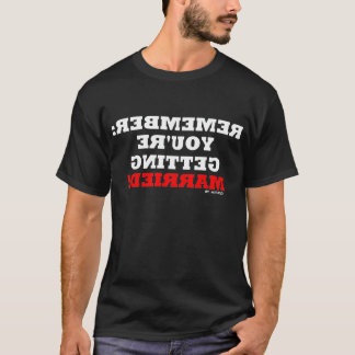 Funny Boyfriend Mirror Shirt For Bachelor Party
