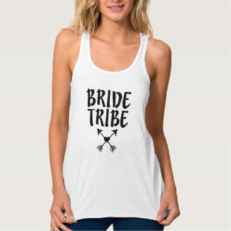 Funny Bride Tribe Women's Bridesmaid tank top