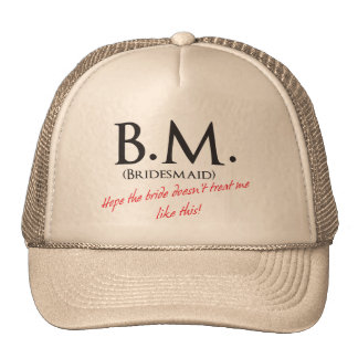 Funny Bridesmaid Cap