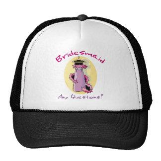 Funny Bridesmaid Gifts Mesh Hats