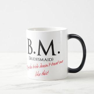 Funny Bridesmaid Morphing Mug