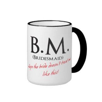 Funny Bridesmaid Ringer Mug