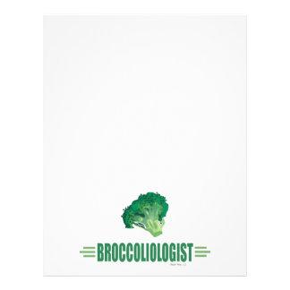 Funny Broccoli Flyer Design