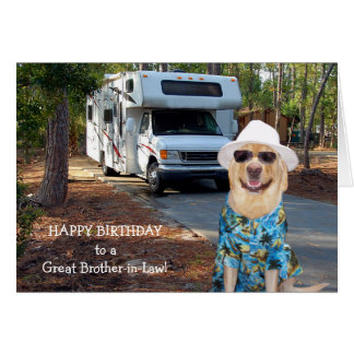 Funny Brother-in-Law Birthday Card