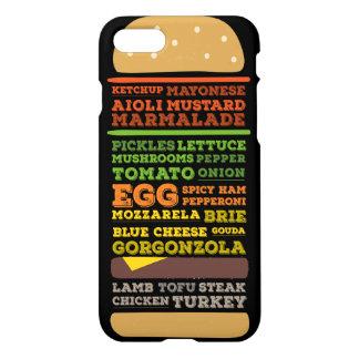 Funny Burger Design iPhone 8/7 Case