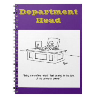 Funny Business Notebook Gift-Management