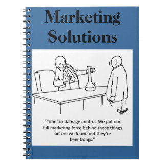 Funny Business Notebook Gift-Marketing