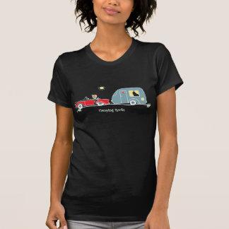 Funny Camping Rocks T-Shirt Caravan
