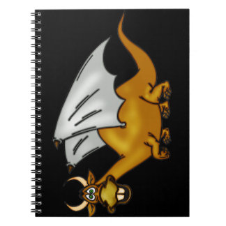 Funny Cartoon Dragon Journal Notebook
