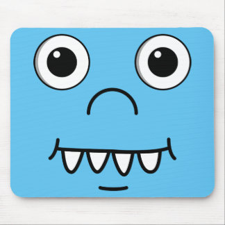 Funny Cartoon face Mouse Pad