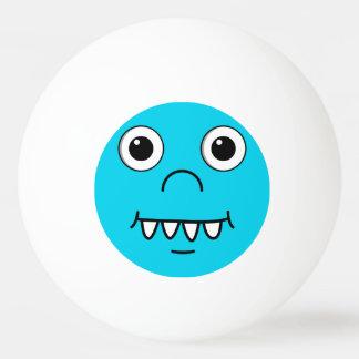 Funny Cartoon face Ping Pong Ball