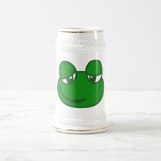 Funny Cartoon Frog Beer Steins