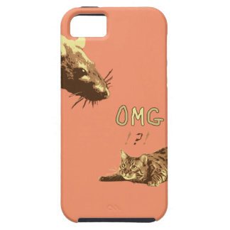 Funny Cat Rat Phone Case