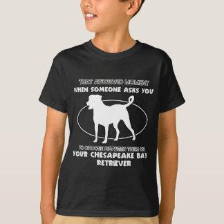 Funny chesapeake bay retriever designs T-Shirt