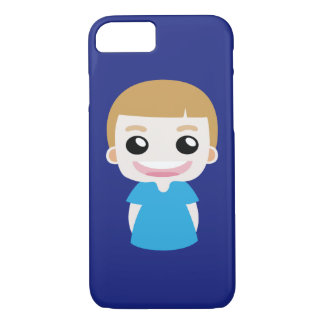 Funny Chubby boy iPhone 8/7 Case