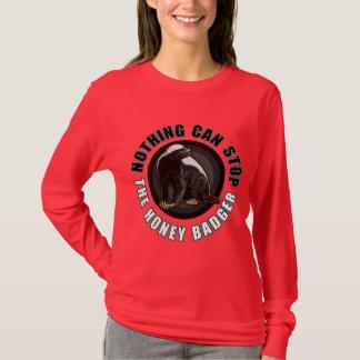 Funny Circle Honey Badger Design for Light or Dark T-Shirt