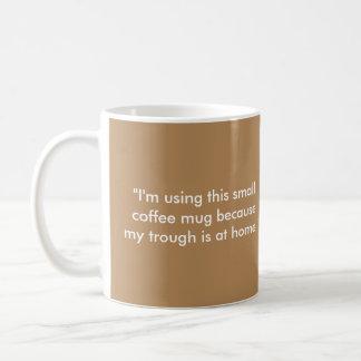 Funny coffee mug, for that coffee lover! basic white mug