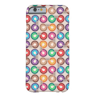 Funny colorful abstract Case Barely There iPhone 6 Case