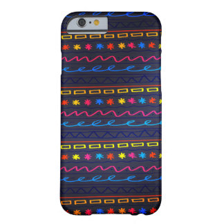 Funny colorful Doodle Pattern Barely There iPhone 6 Case