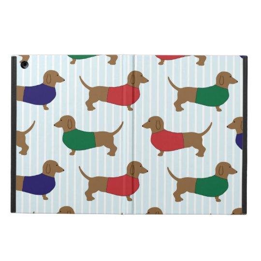 Funny Colourful Dachshund Dogs, iPad Air Case