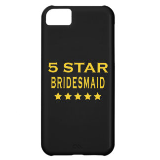 Funny Cool Bridesmaids : Five Star Bridesmaid iPhone 5C Cover