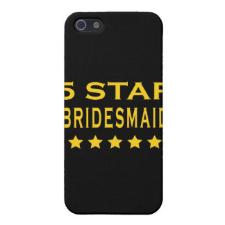 Funny Cool Bridesmaids : Five Star Bridesmaid iPhone 5 Cover