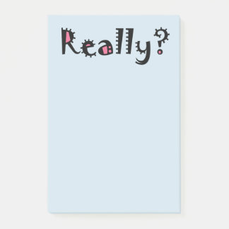 Funny Cute Sarcastic Office Sticky Post-It Notes