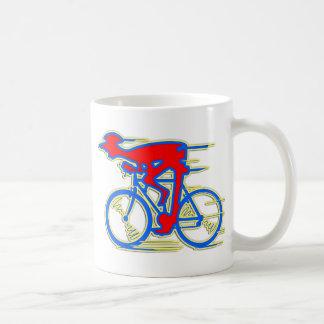 Funny Cycling Abstract Mug