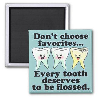 Funny Dentistry Magnet