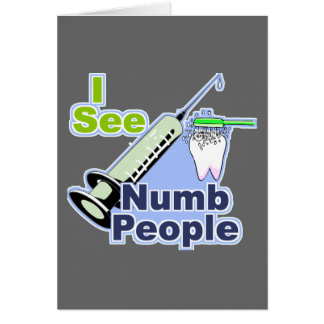 Funny Dentists and Hygienists Card