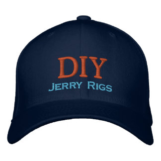 Funny Do-It-Yourself Embroidered Baseball Cap