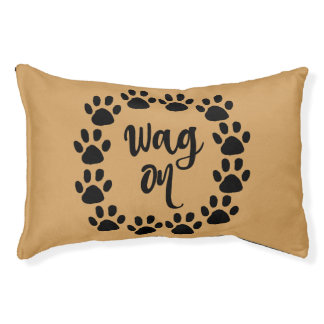 Funny Dog Quote Pet Bed