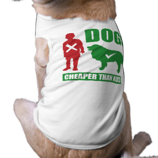 Funny Dogs are Cheaper than Kids Shirt